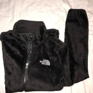 Woman's North Face Osito zip-up jacket